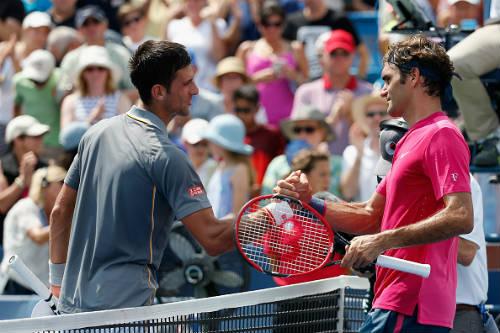 Federer & Djokovic tung hô nhau trước CK US Open - 1