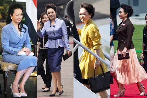 Thời trang đẳng cấp của đệ nhất phu nhân Trung Quốc - 1
