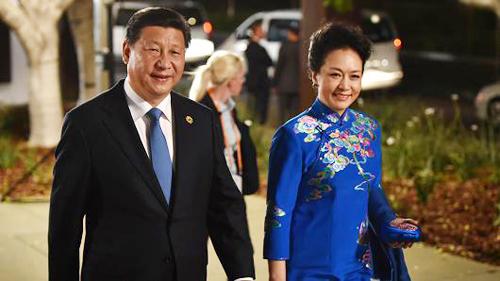 Thời trang đẳng cấp của đệ nhất phu nhân Trung Quốc - 4
