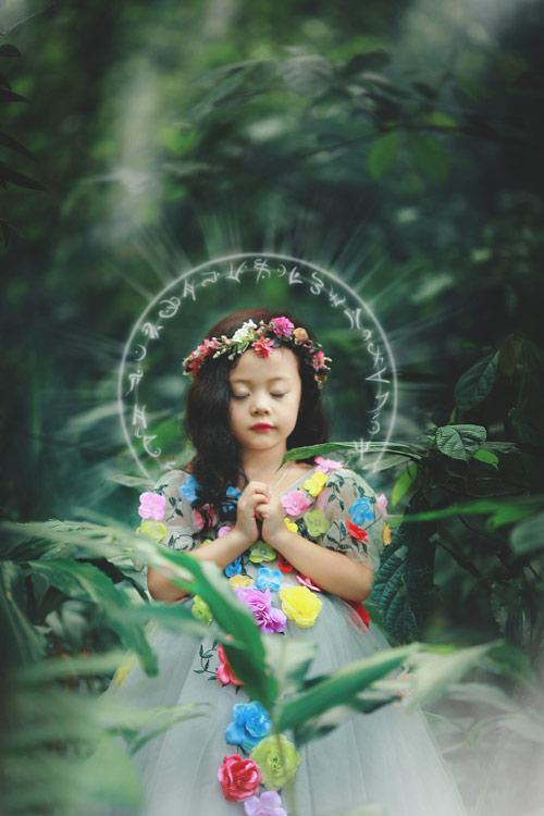 Mẫu nhí sành điệu hóa thân thành công chúa xinh đẹp - 1