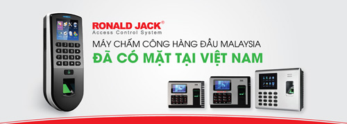 Máy chấm công Ronald Jack – Thương hiệu được tin dùng tại Việt Nam - 3