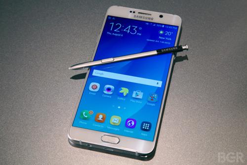 Galaxy Note 5 là smartphone phổ biến nhất thế giới - 1