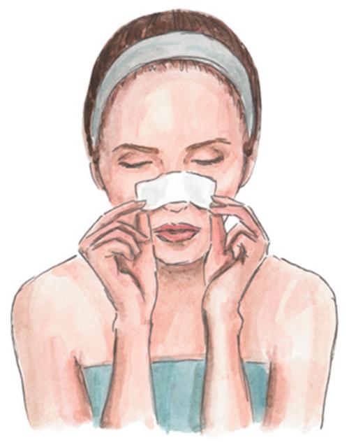 5 cách đơn giản loại bỏ mụn đầu đen trên mũi - 1