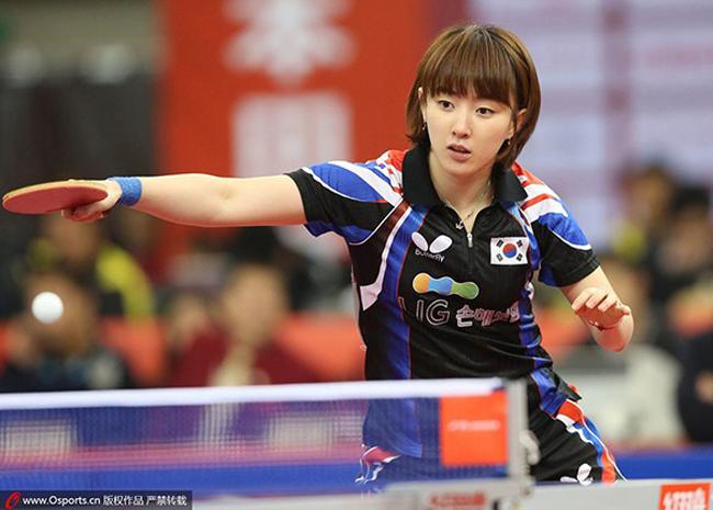 Seo Hyo Won là nữ vận động viên bóng bàn nổi tiếng ở Hàn Quốc.