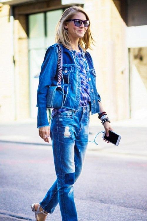 Thu rồi, lại đến mùa diện áo khoác jeans - 2