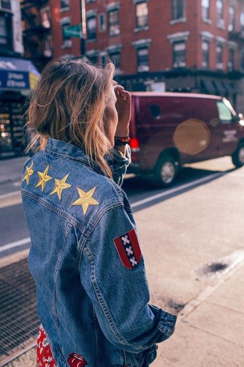 Thu rồi, lại đến mùa diện áo khoác jeans - 7