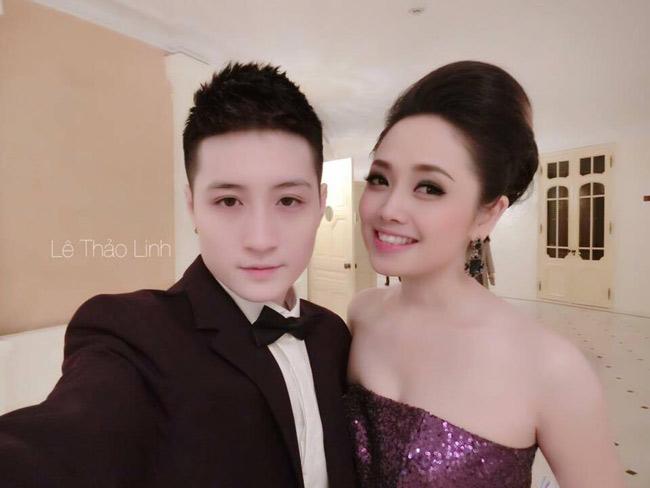 """Một người là MC nổi tiếng, một người sở hữu lượng fan lớn trên Facebook, cặp đôi Ngọc Trang - Lin Jay được khen ngợi là """"xứng đôi vừa lứa""""."""