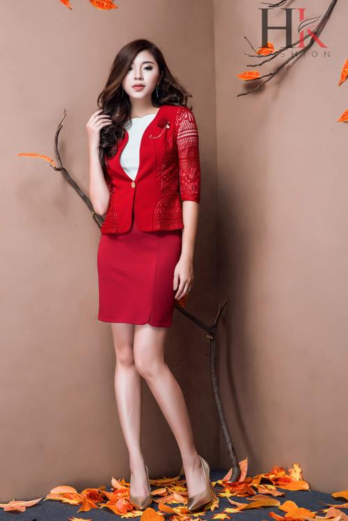 Nữ công sở Việt 'phải lòng' thời trang HK Fashion - 2