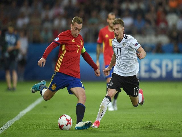 U21 Đức - U21 Tây Ban Nha: Nổ tung với cú đánh đầu
