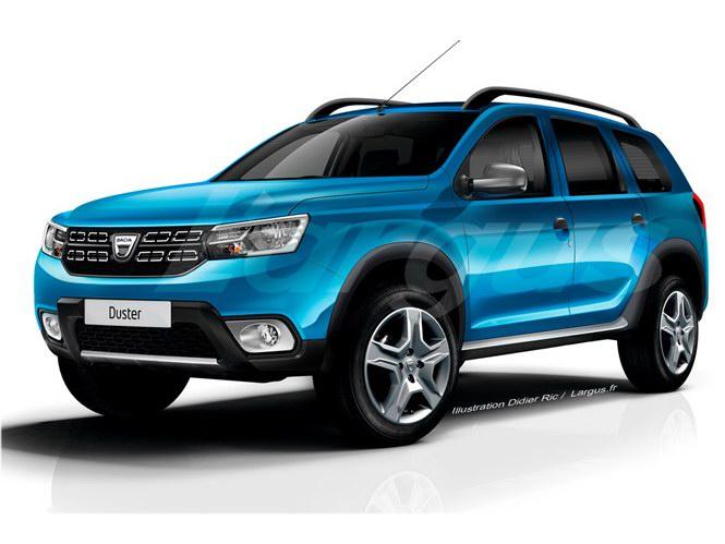 Renault Duster thế hệ mới đã bớt 'xấu xí' - 1