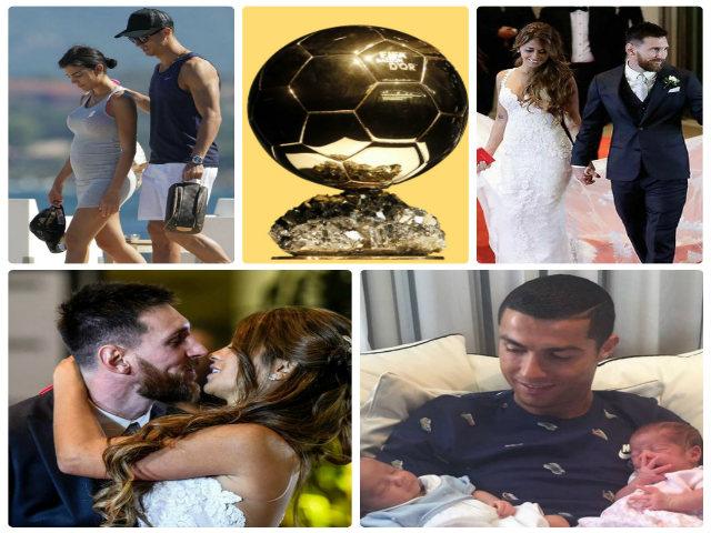 Messi lấy vợ, Ronaldo đón con: Động lực tranh Bóng Vàng thứ 6