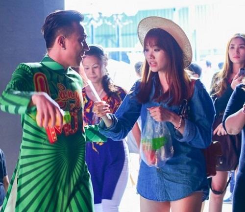 """Hari Won mặc quần siêu ngắn, """"đọ"""" độ nóng với Nhã Phương, Bảo Anh - 6"""