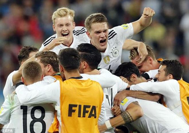 Chung kết Confederations Cup 2017: ĐT Đức quá may, Vidal không phục - 1
