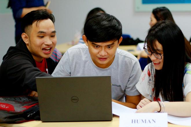 Trường ĐH KHTN: Sinh viên ITEC học với mô hình công ty giả định - 1