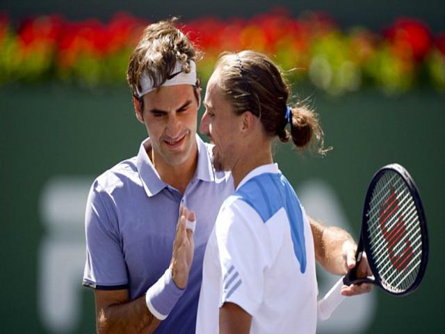 TRỰC TIẾP tennis Federer - Dolgopolov: