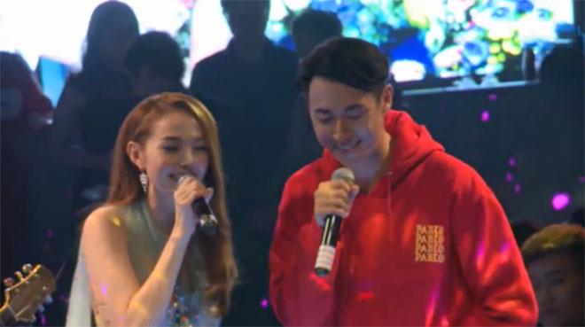 """Clip: Minh Hằng gây thất vọng khi hát live """"Duyên Phận"""" - 1"""