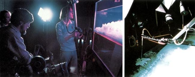 Cách tạo ra một đám mây giả theo công nghệ ở Hollywood.