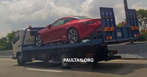 Lexus LC 500 xuất hiện tại Malaysia, sắp về Việt Nam - 1