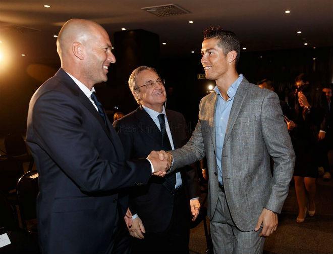 """Zidane họp """"bố già"""" Perez: Định đoạt tương lai Morata, James - 1"""