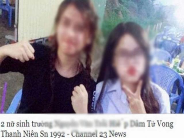 """Công an truy tìm kẻ tung tin """"2 nữ sinh hiếp dâm thanh niên tới chết"""""""