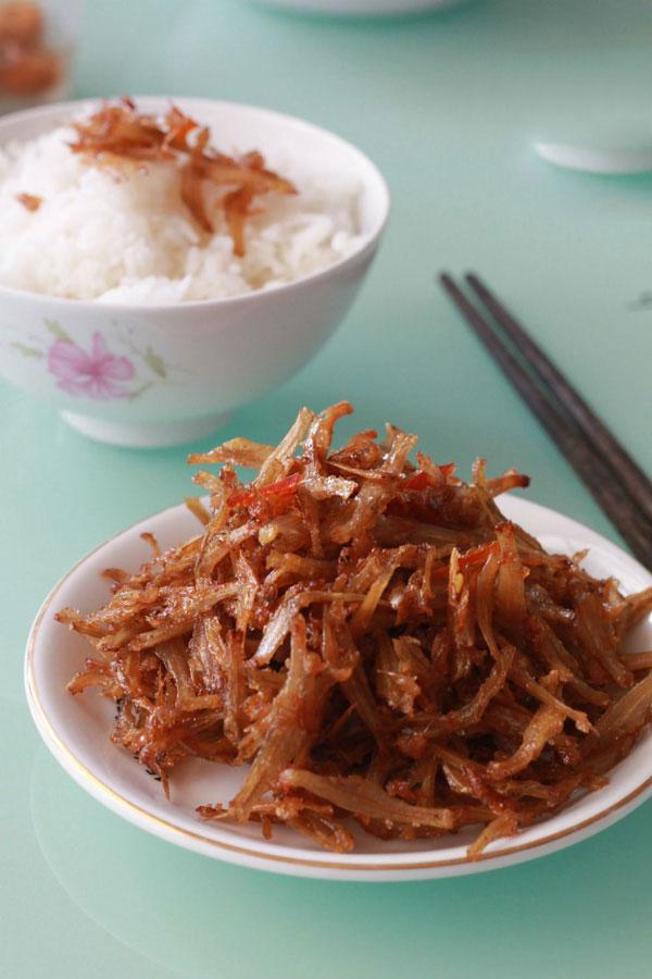 Cá khô rim chua ngọt - món ngon đưa cơm ngày mưa - 5