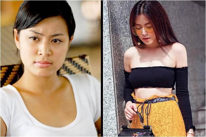 Hoàng Thùy Linh từ cô gái da ngăm, lép kẹp đến kiều nữ gợi tình bậc nhất - 1