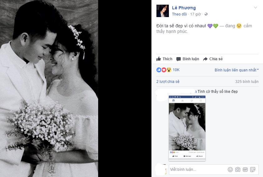Lê Phương cưới chồng trẻ hơn 7 tuổi, không mời Quách Ngọc Ngoan - 1