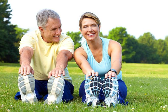 Kết quả hình ảnh cho người trung niên tập thể dục