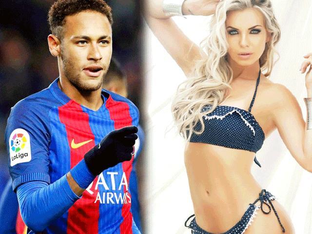 """3 chân dài tuyên bố tặng Neymar """"một đêm"""", viết tên anh lên ngực"""