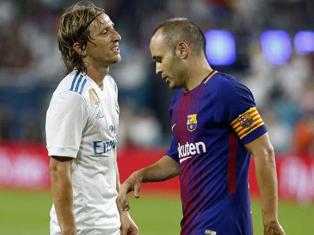 """Real đại thắng MU, bị xếp """"cửa dưới"""" Siêu kinh điển đấu Barca"""