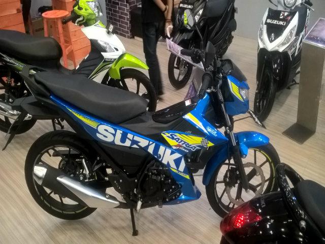 Xe côn Suzuki Satria F150 có bán ở Việt Nam tái xuất