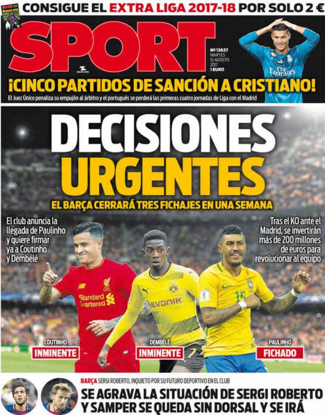 Barca chốt tam tấu 240 triệu bảng: Coutinho - Dembele - Paulinho xuất kích - 1