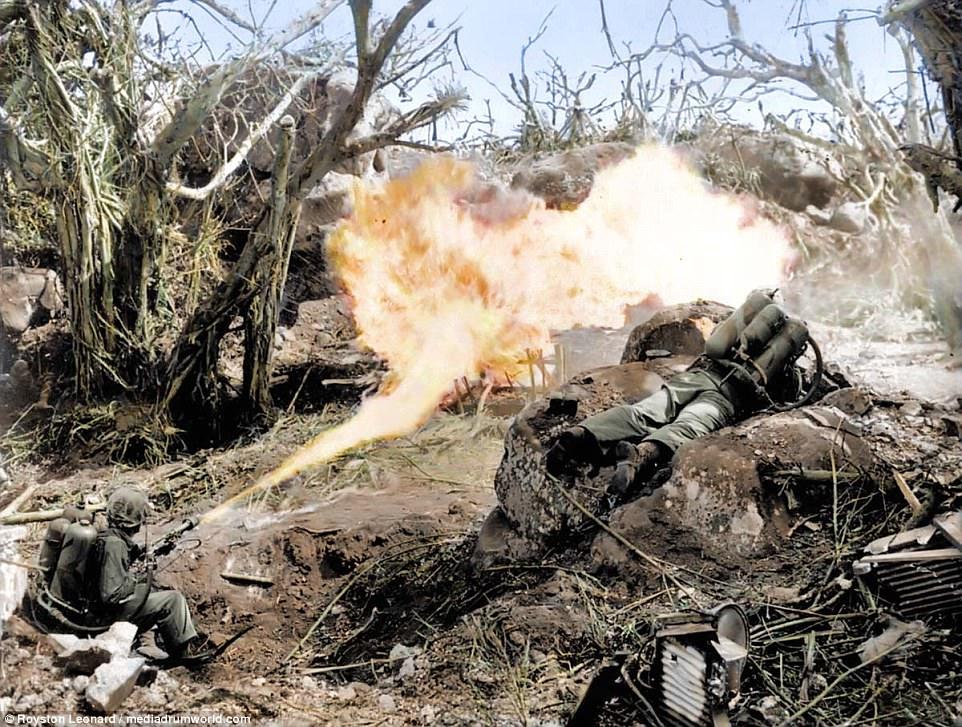 Trận đánh chiếm đảo Guam đẫm máu trong Thế chiến 2 - 1