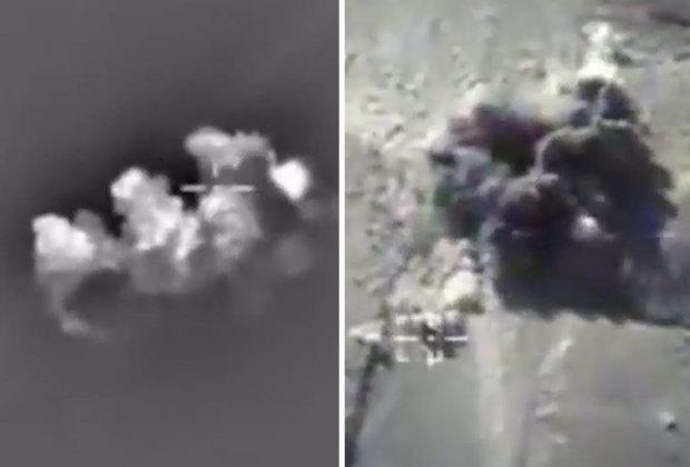 """200 khủng bố IS bị máy bay Nga """"nướng chín"""" - 1"""