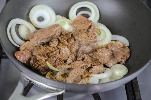 Thịt bò sốt tiêu đen ấm lòng ngày mưa gió - 8