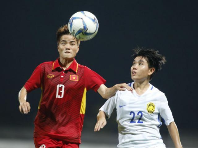 Đội tuyển nữ Việt Nam vỡ òa ăn mừng lập kỉ lục HCV SEA Games