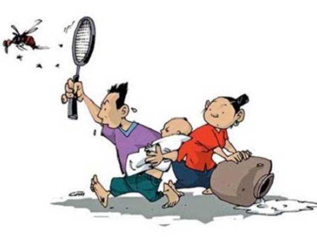 Muỗi 'ăn hiếp' bọn trẻ nhà nghèo - 1
