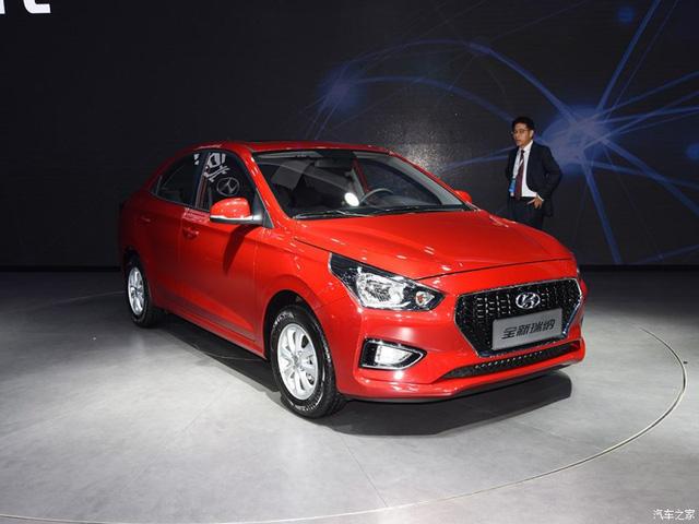 Hyundai Accent 2018 rút gọn chỉ có giá 172 triệu đồng - 1