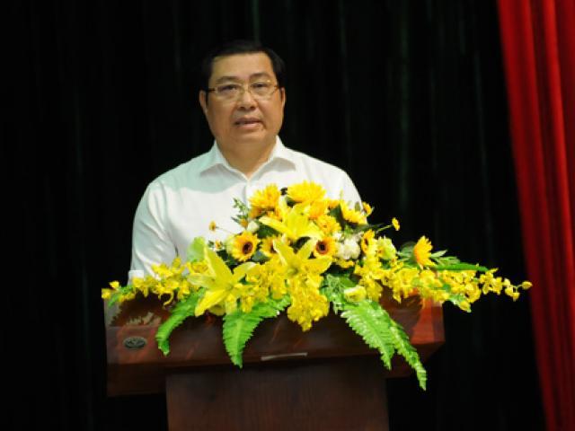 """Chủ tịch Đà Nẵng Huỳnh Đức Thơ: """"Đừng lo chuyện ông mô đi, ông mô ở"""""""