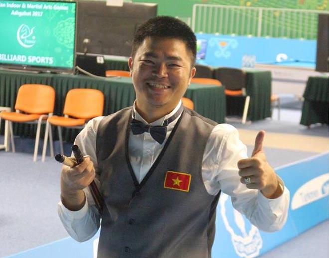 Bi-a: Quốc Nguyện xuất thần hạ nhà vô địch thế giới, đoạt Vàng châu Á - 1
