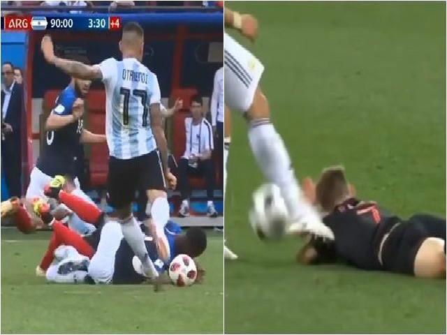 """""""Đồ tể"""" Argentina đá xấu nhất World Cup: Pepe cũng """"hãi"""", fan đòi cấm 10 trận"""