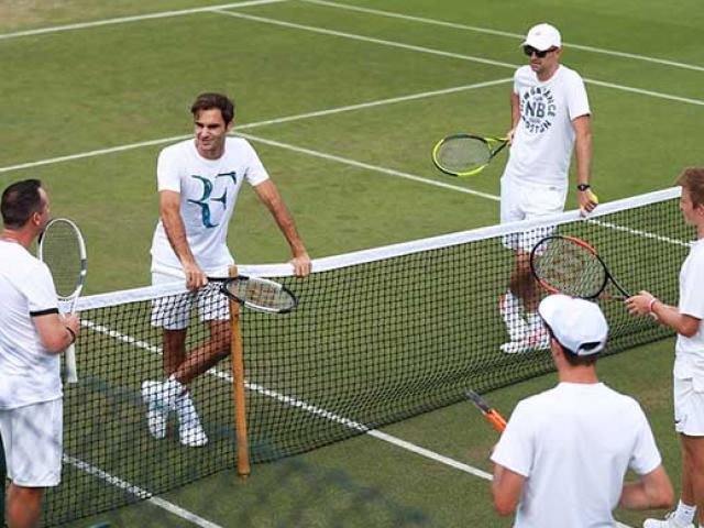 "Wimbledon 2018 ""khai chiến"": Đua cùng World Cup, tâm điểm Federer – Nadal"