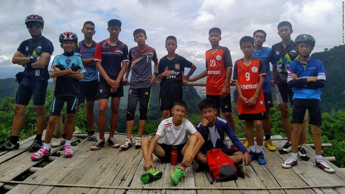 Hơn 1 tuần đội bóng mất tích ở Thái Lan: Tình hình hết sức kì lạ - 1
