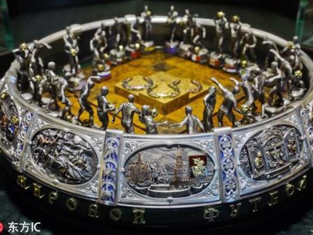 Ngắm sân vận động dát vàng, dát bạc dành riêng cho World Cup 2018
