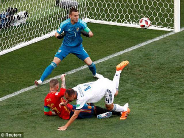 """World Cup, Tây Ban Nha - Nga: Sai lầm khó ngờ, người hùng loạt """"đấu súng"""""""