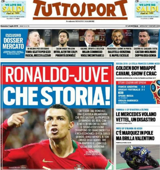 Chấn động chuyển nhượng: Ronaldo rời World Cup, bỏ Real chọn bến đỗ sốc - 1