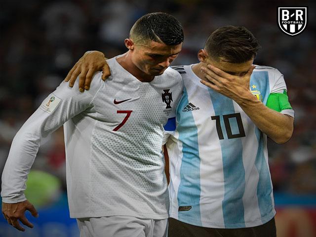 """Messi, Ronaldo """"rủ nhau"""" rời World Cup: Triệu fan người cười chê, kẻ tiếc nuối"""
