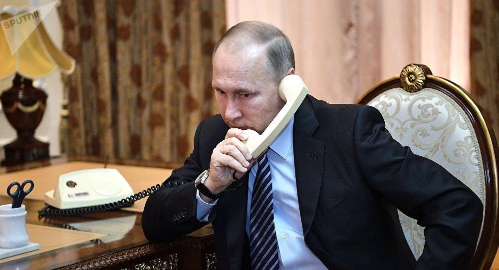 World Cup: Cuộc điện thoại của Putin trước trận Nga đánh bại TBN - 1