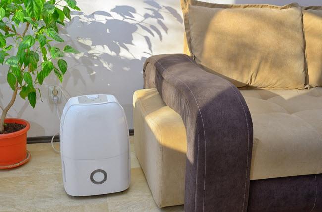 Máy hút ẩm: Thiết bị này cũng co tác dụng làm mát phòng ngủ, đặc biệt những vùng có độ ẩm cao. Ngoài ra, nó cũng giúp loại bỏ những yếu tố gây dị ứng đối với những người nhạy cảm.