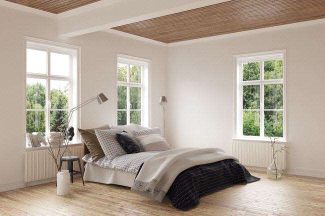 Che cửa sổ bằng tám phản chiếu: Tấm phản chiếu cửa sổ giúp loại bỏ 63% năng lượng của mặt trời. Nó vẫn cho phép ánh sáng xuyên qua cửa sổ, nhưng không đủ để làm phòng ngủ quá nóng.